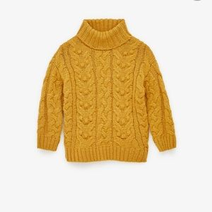 Zara Cable Knit Swater